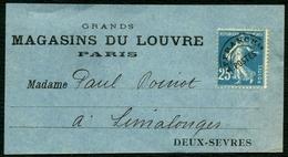 France Préo N° 56 S/ Bande - Cote 60 Euros - TTB Qualité - 1893-1947