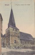 Engis - L'Eglise Datant De 1608 (animée, Colorisée, 1920) - Engis