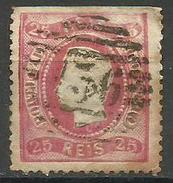 Portugal - 1867 Luis I 25r Used  Sc 28 - Used Stamps
