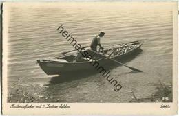 Bodensee - Fischer Mit 5 Zentner Felchen - Boot Hagnau 42 - Foto-Ansichtskarte - Otros