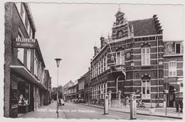 Horst - Gemeentehuis Met Steenstraat - Oud - Horst