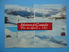 Madonna Di Campiglio - Pinzolo - Trento - Vedutine - Panorama Invernale - Piste Del Grostè - Funivia - Trento