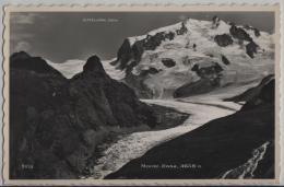 Monte-Rosa (4638 M) - Photo: Perrochet No. 9852 - VS Valais