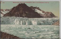 Märjelen-See (2367 M) Mit Dreieckhorn (3822 M) Und Olmenhorn (3318 M) Gletscher - Photoglob - VS Valais