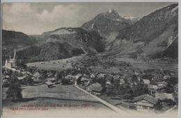 Lungern (757 M) Und Das Wylerhorn (2006 M) - Photoglob No. 7439 - OW Obwald