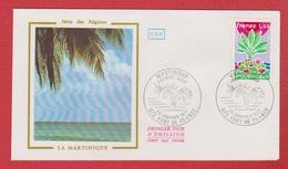 Enveloppe Premier Jour   / Série Des Régions / La Martinique / Fort De France /  29 - 01 - 77 - 1970-1979