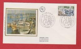 Enveloppe Premier Jour   / Europa / Paris  /  23 - 04 - 77 - 1970-1979