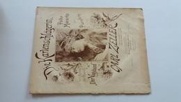 DIE KARTENSCHLAGERIN - CARL ZELLER- YEAR 1887 - Noten & Partituren