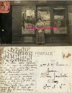 Marguerite DUSSANGE-devant Boutique  Librairie Jouets-éditeur Cartes Postales? Parents à Macon, épicerie Rue Gambetta - Métiers