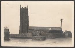 St Buriana's Church, St Buryan, Cornwall, C.1930s - Hawke RP Postcard - England