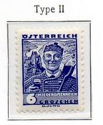PIA - AUS - 1934-35 - Costumi Regionali  : Costume Della Bassa Austria - II° Tipo- (Yv 445a) - Neufs