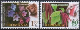 Romania 2012 2  V Used Flora  Fauna  Flowers  Animals Bear - Osos