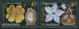 Romania 2013 2  V Used Flora    Flowers  Clocks Clock - Uhrmacherei