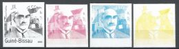 Guinea Bissau Rudyard Kipling Color Trials Progressive Proof Michel 2178 4 - Non Classificati