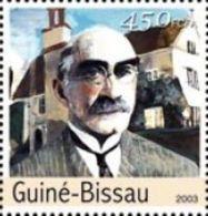 Guinea Bissau Rudyard Kipling England Author 1v Stamp MNH Michel 2178 - Non Classificati