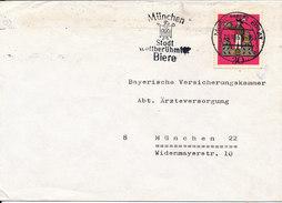 Germany Cover 20-10-1969 Single Franked - [7] République Fédérale