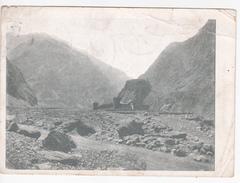 URSS , Georgia , Military Georgian Road , Postcard , Dubosary Postal Cancell , Transnistria , Send To Yalta , Crim - Georgia