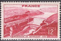 France - YT 817 - Barrage De Génissat (1949) NEUF AVEC TRACE DE CHARNIERE - Nuevos