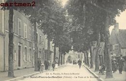 SAINT-PIERRE-LE-MOUTIER POSTE BOULEVARD 58 - Saint Pierre Le Moutier