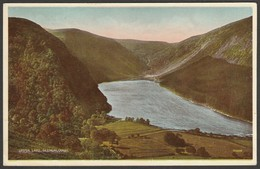 Upper Lake, Glendalough, Wicklow, C.1930s - Valentine's Postcard - Wicklow