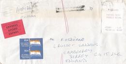 South Africa RSA 1993 Parklands Meter Franking PO3.1. Olivetti ATM EMA FRAMA Registered Express Cover Late Handstamp - Frankeervignetten (Frama)