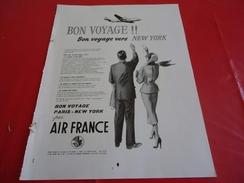 De 1953 - AIR FRANCE - 24 X 31 Cm - - Pubblicitari