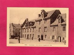 29 FINISTERE, LOCRONAN, Belles Maisons Bourgeoises De 1669, Animée, (Le Doaré) - Locronan