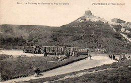 63.PUY-DE-DOME.. .. CPA.....LE TRAMWAY......LOT F2754 - Clermont Ferrand