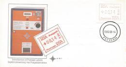 South Africa RSA 1986 Pretoria ATM EMA FRAMA FDC Cover - Frankeervignetten (Frama)