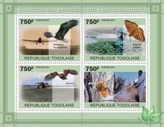 TOGO 2011 - Pesticides, Bee - YT 2404-7; CV = 17 € - Honingbijen