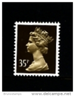 GREAT BRITAIN - 1988  MACHIN  35p. PCP  MINT NH  SG X988 - 1952-.... (Elisabetta II)