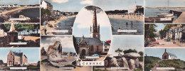 Bg - Cpsm Panoramique (9 X 23 Cm) CARNAC - Multivues - Carnac