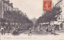 Bg - Cpa LORIENT - Le Cours La Bove Vers Le Théatre - Lorient