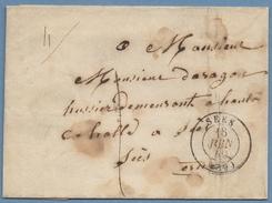 LSC Sées (59) T15 1849 Port Local - Marcophilie (Lettres)