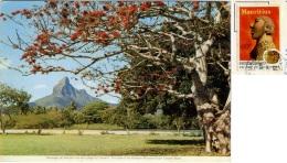 MAURITIUS  MAURICE  Montagne De Rempart Vue De La Plage Du Tamarin Nice Stamp - Mauritius