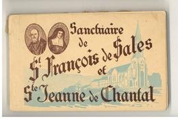 Carnet De 16 Cartes Postales Du Sanctuaire De St François De Sales Et Ste Jeanne De Chantal - Annecy