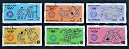 JEUX OLYMPIQUES DE MUNICH 1972 - OBLITERES - YT 1946/51 - MI 2172/77 - Gebraucht