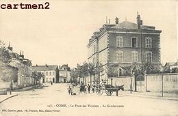 COSNE PLACE DES VICTOIRES GENDARMERIE 58 - Cosne Cours Sur Loire