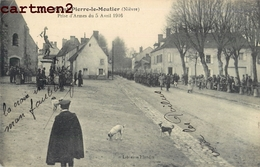 SAINT-PIERRE-LE-MOUTIER PRISE D'ARMES DU 5 AVRIL 1916 GUERRE - Saint Pierre Le Moutier