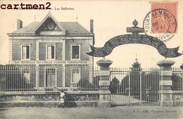 FOURCHAMBAULT LES SAFFRETTES PROPRIETE MAUPETIT EAU MINERALE NATURELLE GAZEUSE FERRUGINEUSE 58 - Francia