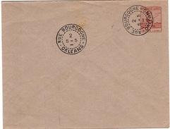 FR-L199 - FRANCE ENTIER SIMILI LETTRE PUBLICITE ROUX ORLEANS - Private Stationery
