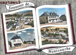 SOUVENIR DE MONTSAUCH MULTIVUES 58 - Montsauche Les Settons