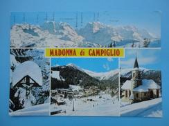 Madonna Di Campiglio - Pinzolo - Trento - Vedutine - Panorama Invernale - Chiesa - Trento