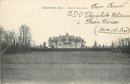 60 GOUVIEUX  Manoir Sans -souci   2scans - Gouvieux