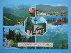Madonna Di Campiglio - Pinzolo - Trento - Vedutine - Panorami - Chiesa - Funivia - Trento