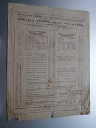 DE CONINCK échelles Ixelles Bruxelles échelles A Coulisses ( Vieux Doc / Voir Photo ) Anno 19?? ( 6 Pag. / Zie Foto ) ! - Publicités