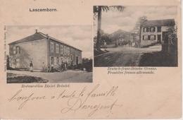 57 - LAFRIMBOLLE - 2 VUES - RESTAURANT Désiré BRINDEL + DOUANE - France