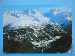 Madonna Di Campiglio - Pinzolo - Trento - Panorama Con La Funivia Pradalago E Le Dolomiti Di Brenta - Trento