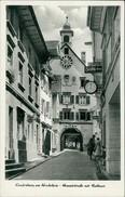 AK Laufenburg Rhein, Hauptstraße Mit Rathaus, Um 1960 (20799) - Germany