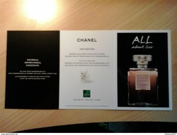 Chanel - Perfume Cards